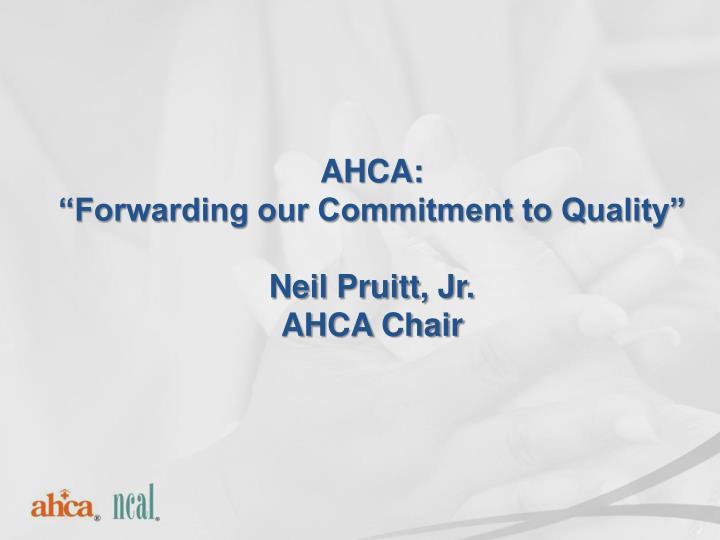 AHCA: