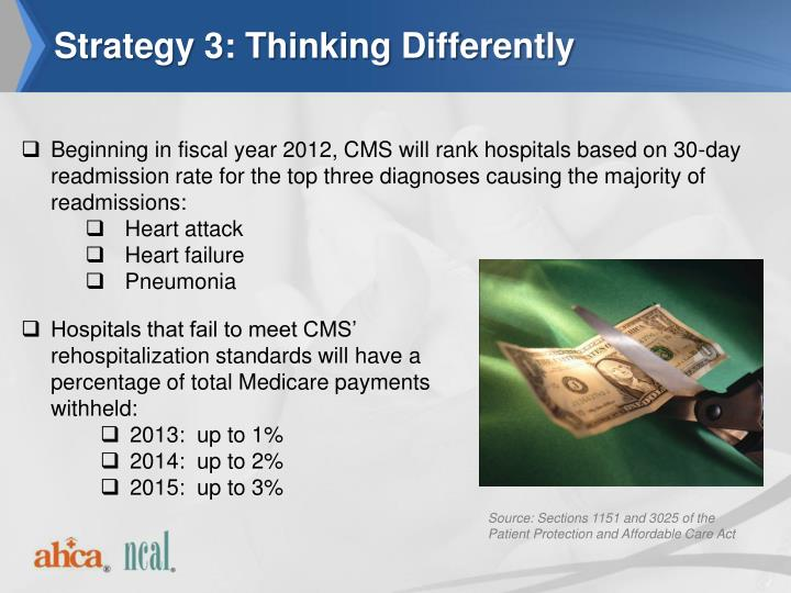 Strategy 3: Thinking Differently