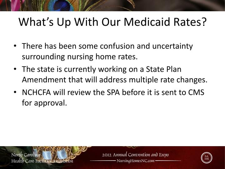 What's Up With Our Medicaid Rates?