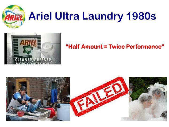 Ariel Ultra Laundry 1980s