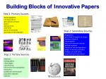 building blocks of innovative papers