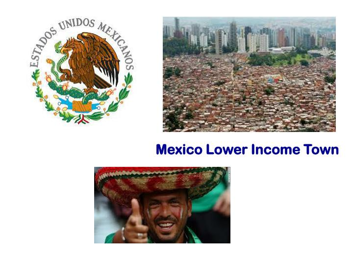 Mexico Lower Income Town