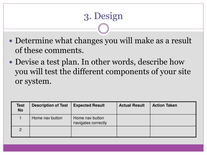 3. Design
