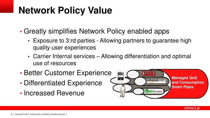 Network Policy Value