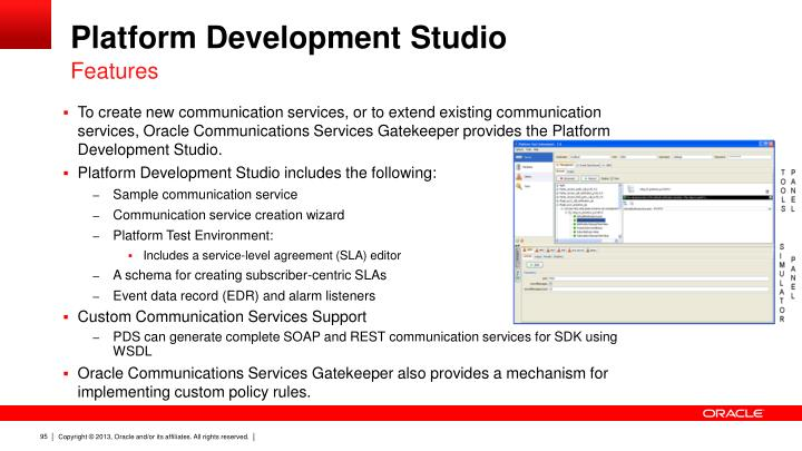 Platform Development Studio