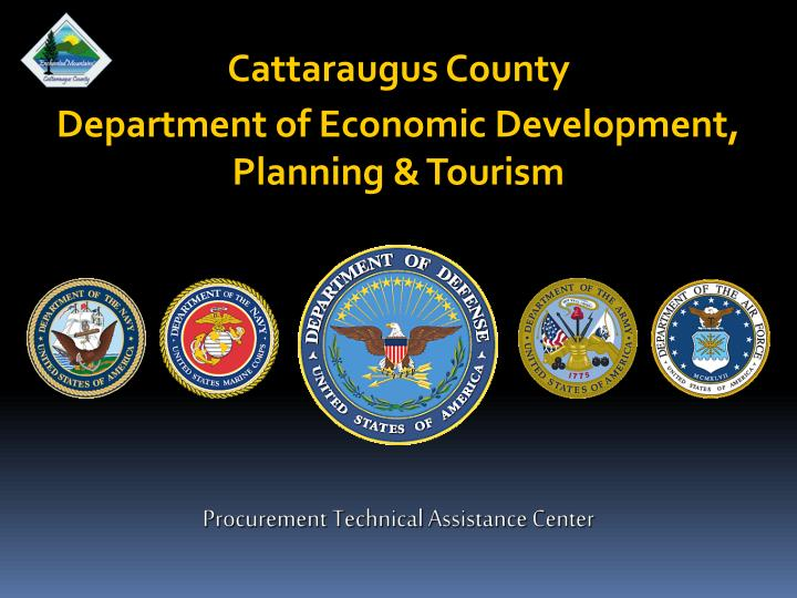 Cattaraugus county department of economic development planning tourism