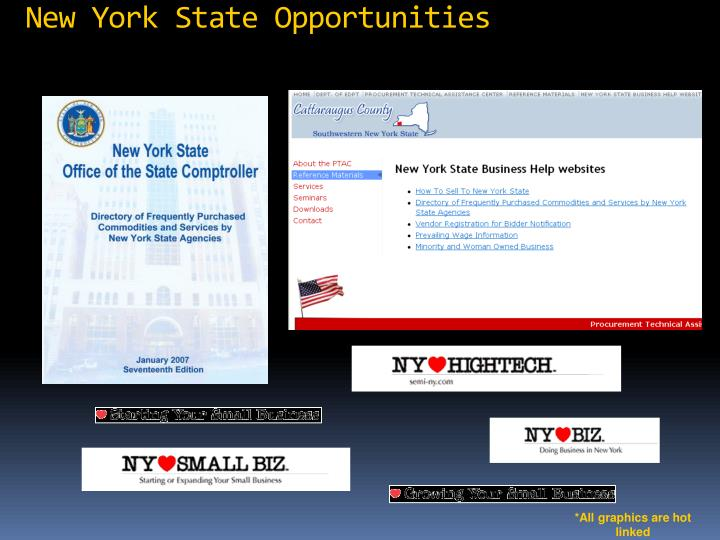 New York State Opportunities