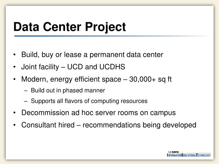 Data Center Project