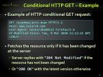 conditional http get example