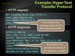 example hyper text transfer protocol