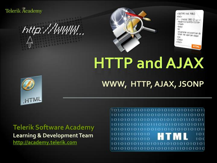 HTTP and AJAX