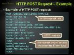 http post request example