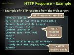 http response example