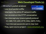 web developer tools 2