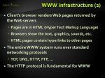 www infrastructure 2