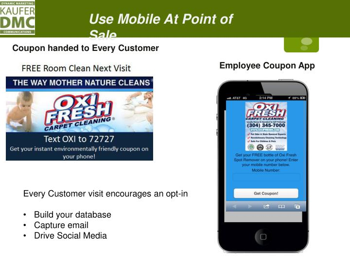 Use Mobile At Point