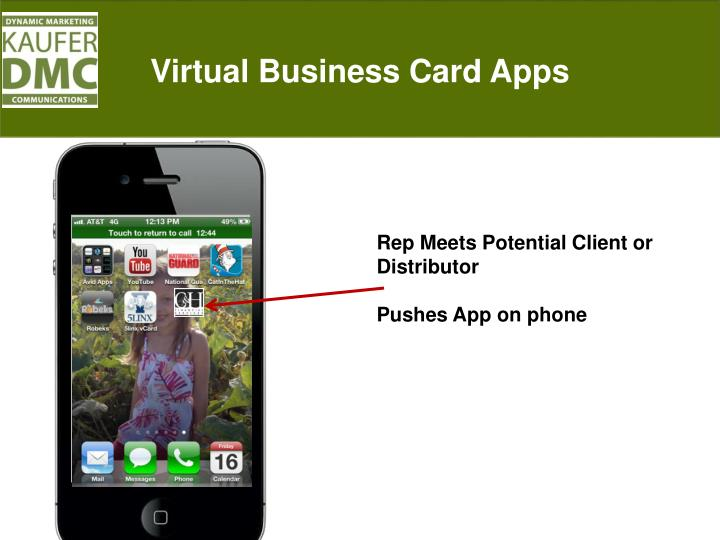 Virtual Business Card Apps