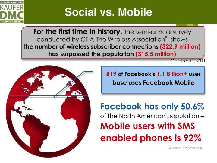 Social vs. Mobile