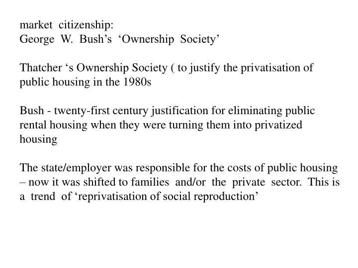 market  citizenship: