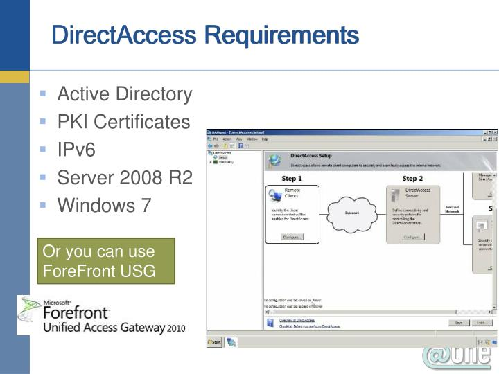 DirectAccess