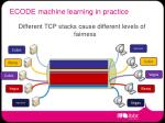 ecode machine learning in practice