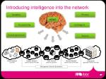 introducing intelligence into the network