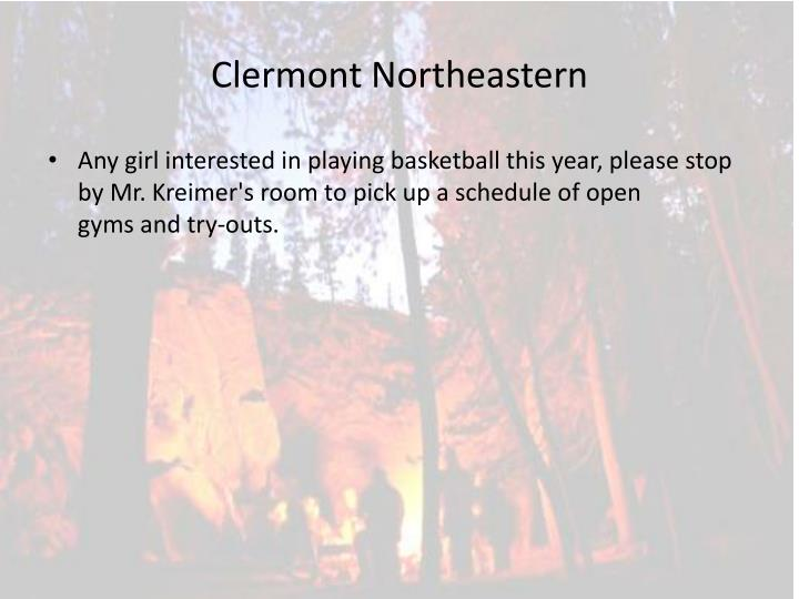 Clermont Northeastern