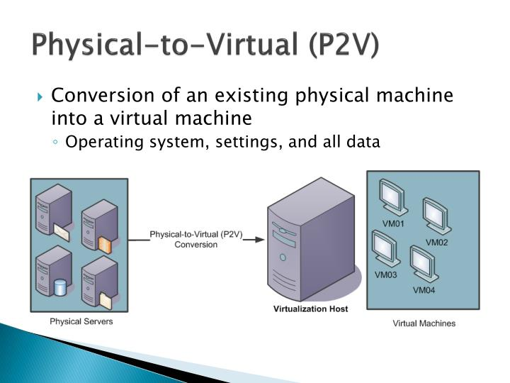 Physical-to-Virtual (P2V)