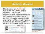 activity streams