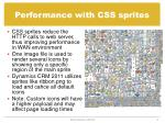 performance with css sprites