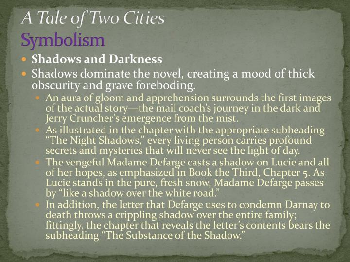 a tale of two cities symbolism Charles dickens, book the first: recalled to life—chapter 5: the wine-shop, a tale of two cities, lit2go edition, (1859), accessed july 18, 2018, .