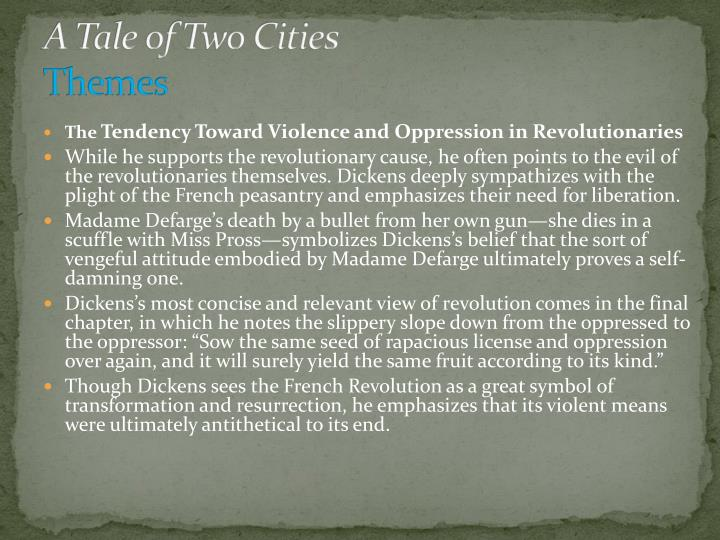 A Tale of Two Cities Themes