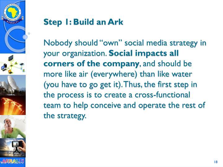 Step 1: Build an Ark