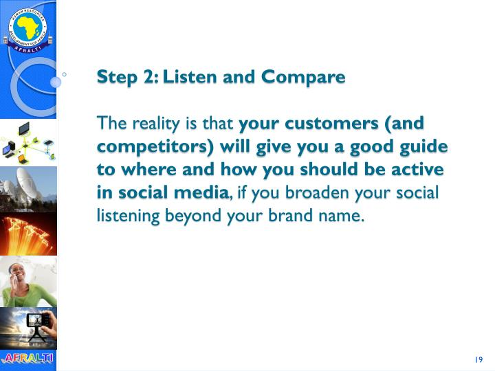 Step 2: Listen and Compare