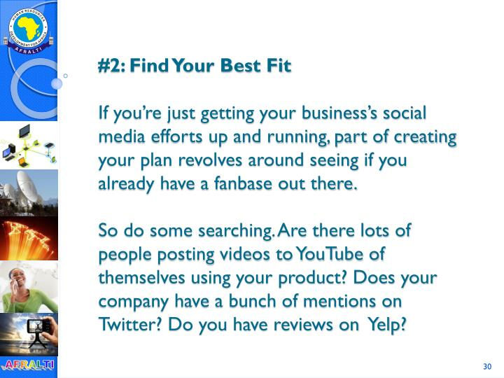 #2: Find Your Best Fit