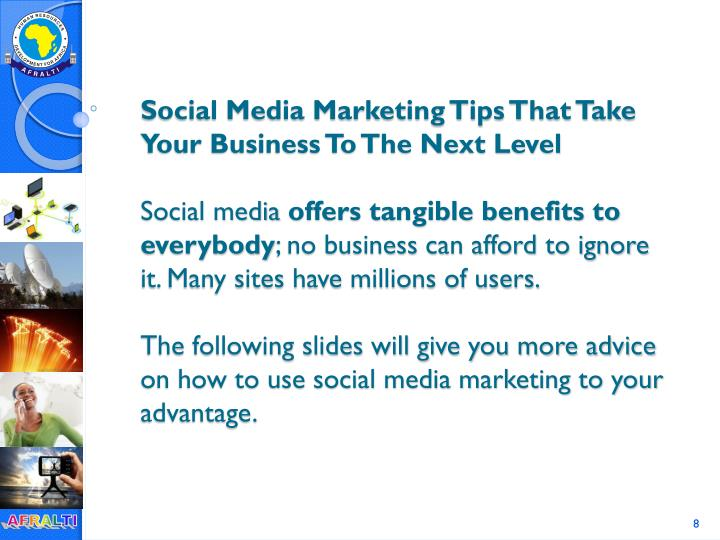 Social Media Marketing Tips That Take Your Business To The Next Level
