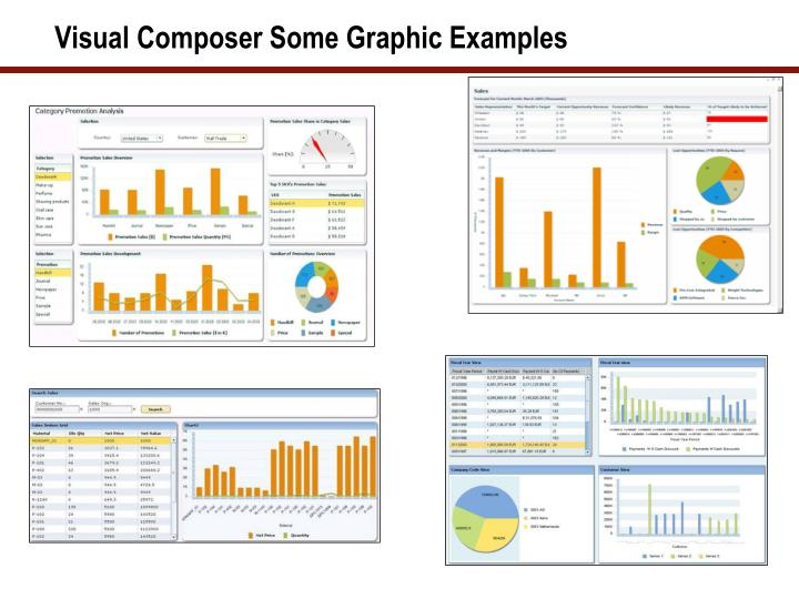 Visual Composer Some Graphic Examples