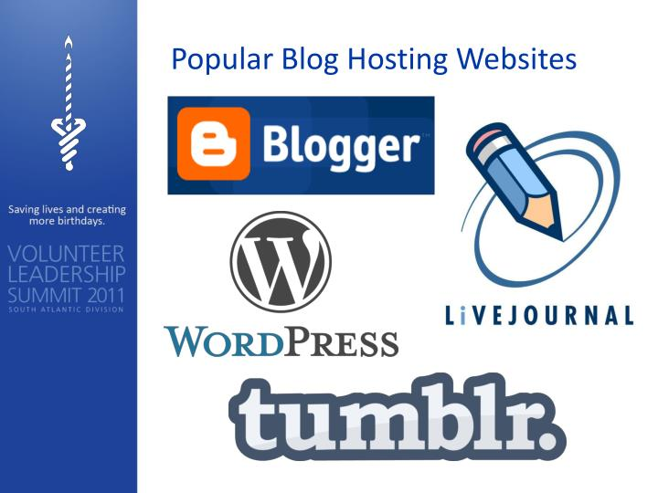Popular Blog Hosting Websites