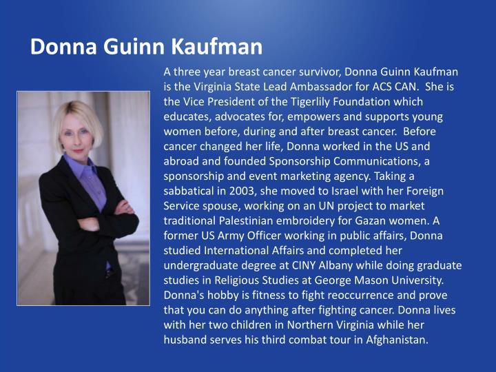 Donna Guinn Kaufman