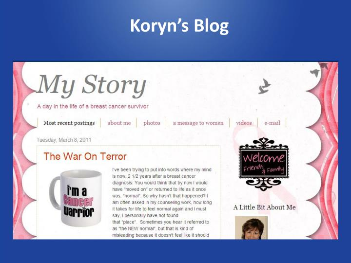 Koryn's Blog