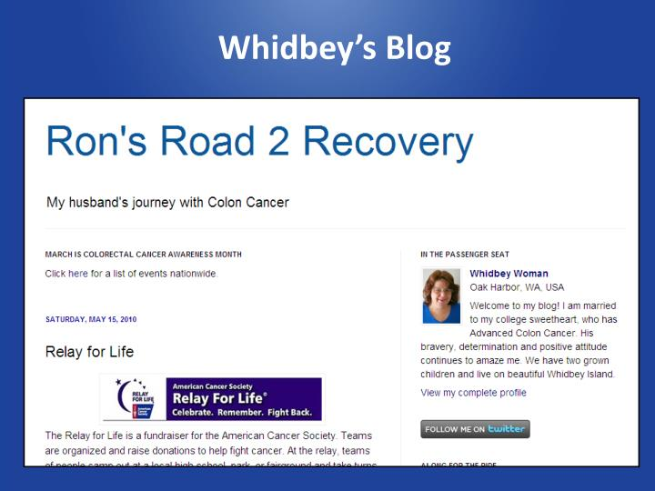 Whidbey's Blog