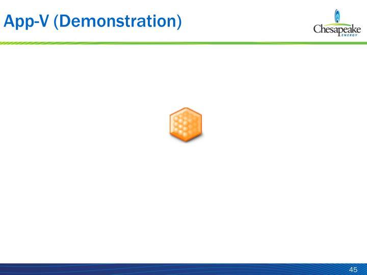 App-V (Demonstration)