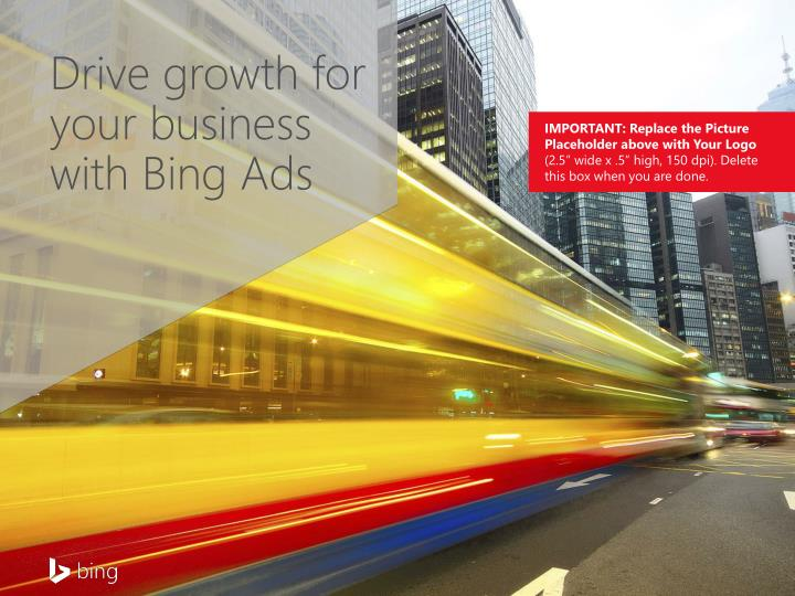 Drive growth for your business