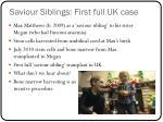 saviour siblings first full uk case