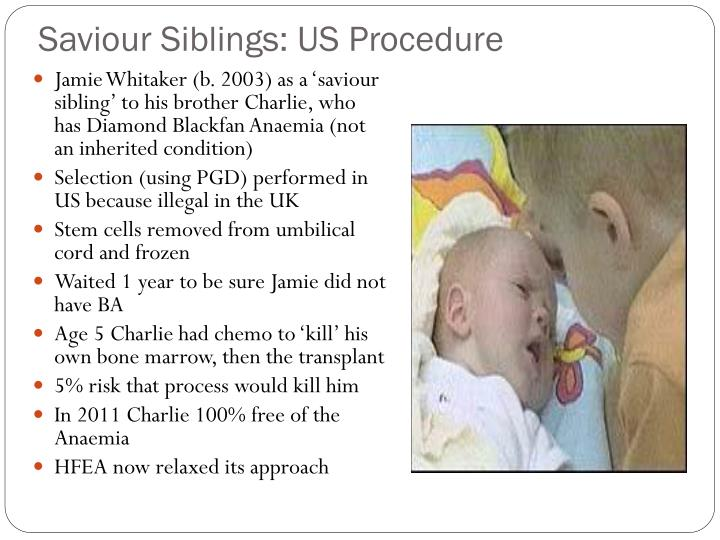 Saviour Siblings: US Procedure