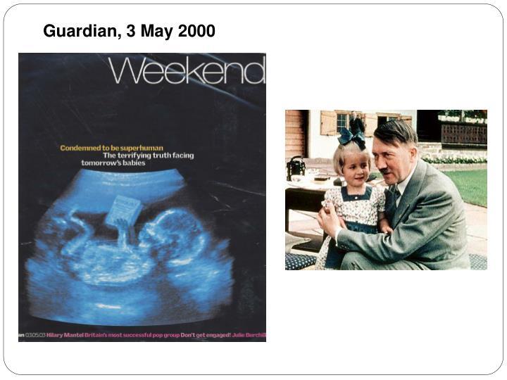 Guardian, 3 May 2000