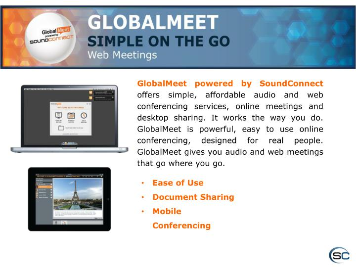 GlobalMeet powered by SoundConnect