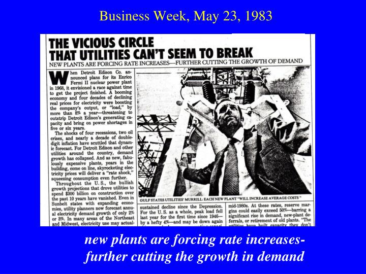 Business Week, May 23, 1983