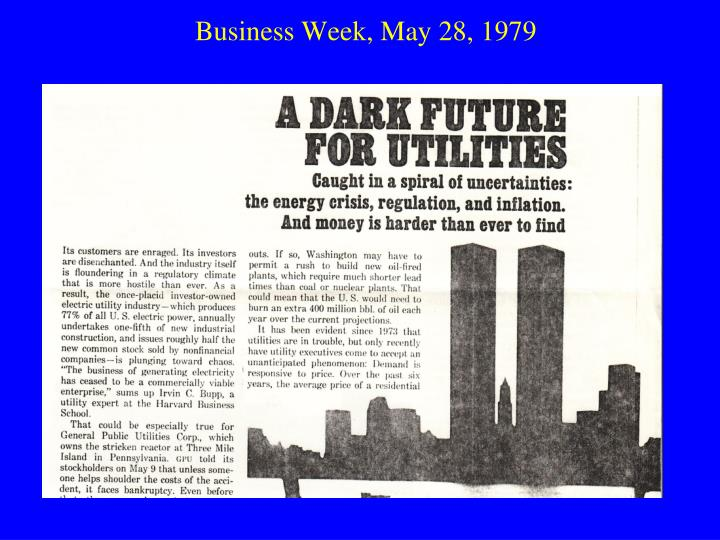 Business Week, May 28, 1979