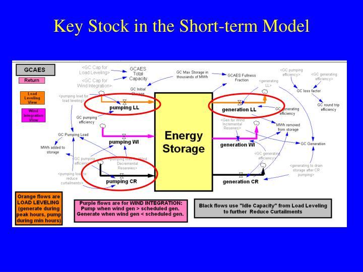 Key Stock in the Short-term Model